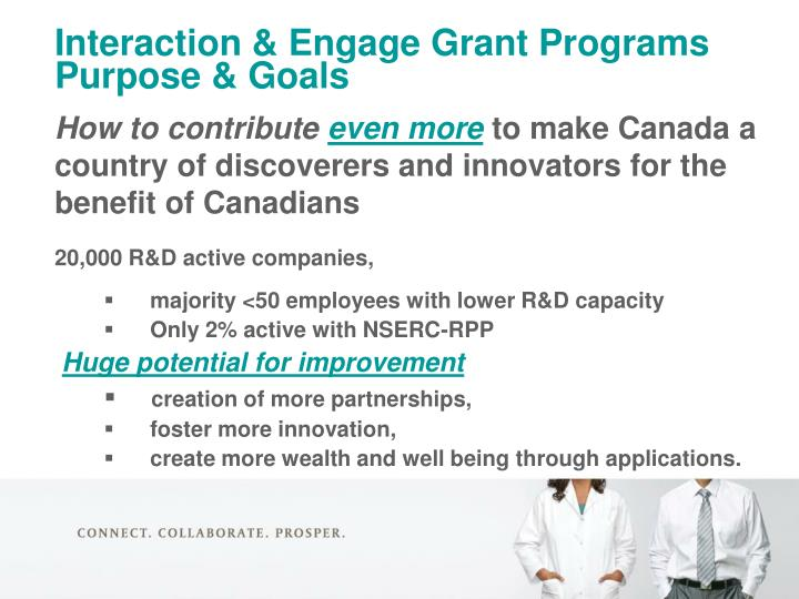 Interaction & Engage Grant Programs