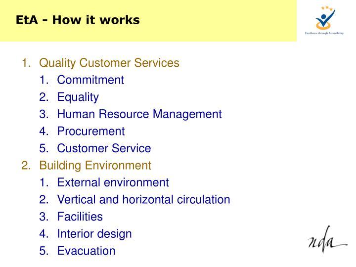 EtA - How it works