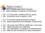 topics cont1