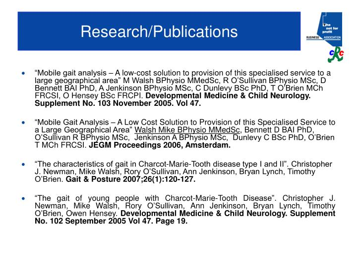Research/Publications