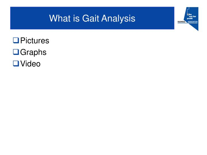 What is Gait Analysis