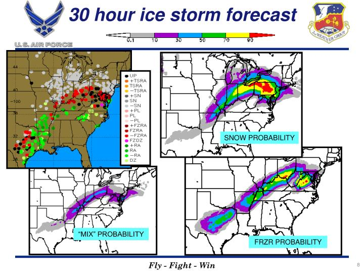 30 hour ice storm forecast