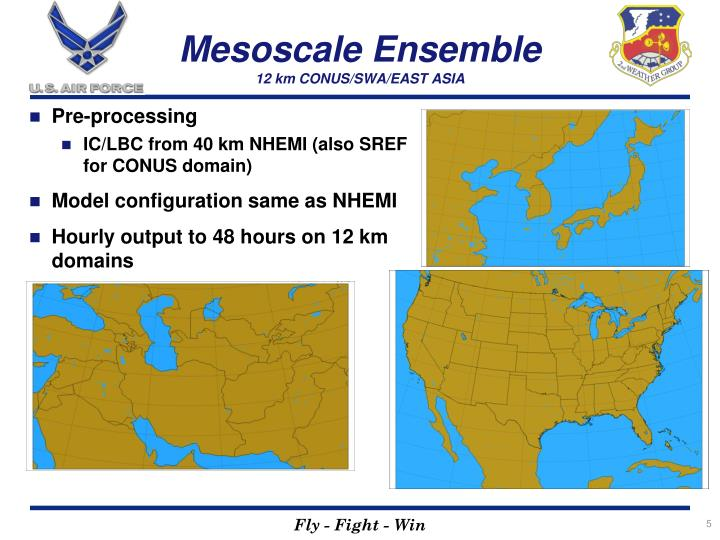Mesoscale Ensemble
