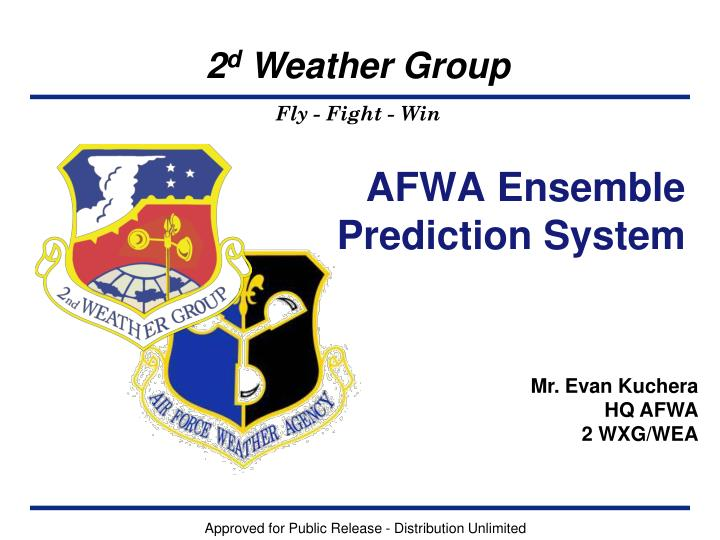 AFWA Ensemble Prediction System