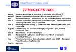 temadager 2003