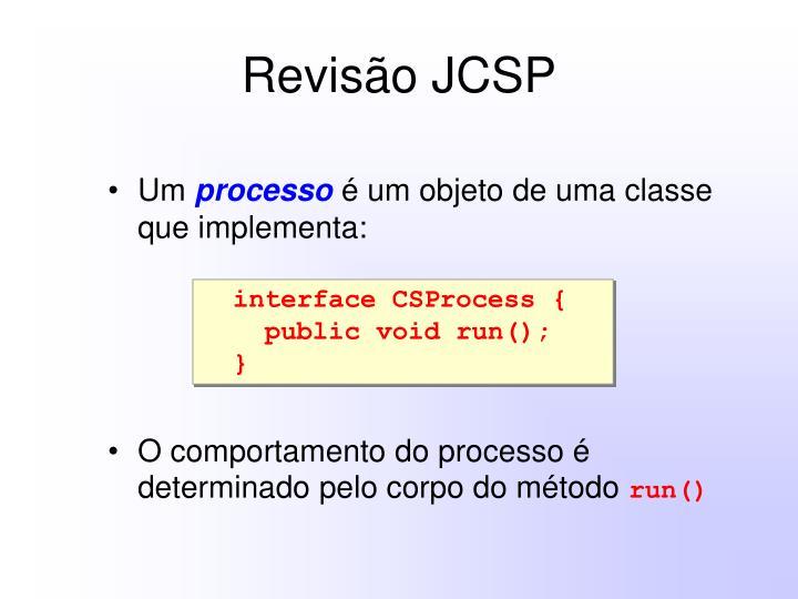 Revisão JCSP