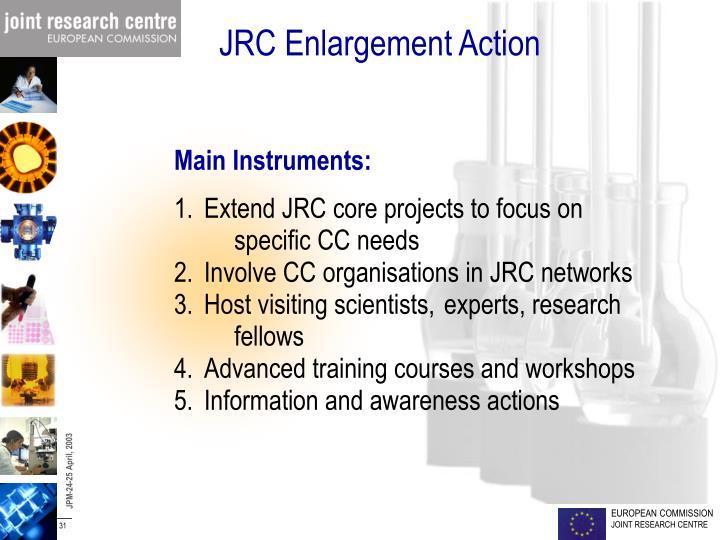 JRC Enlargement Action
