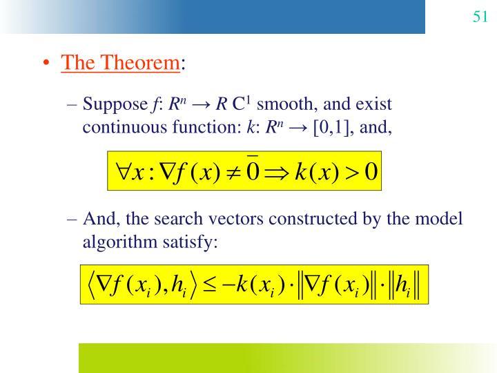 The Theorem