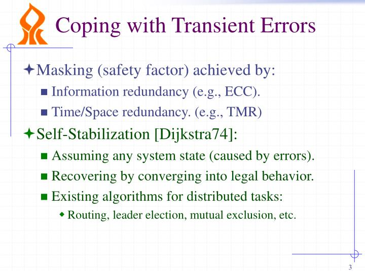Coping with transient errors