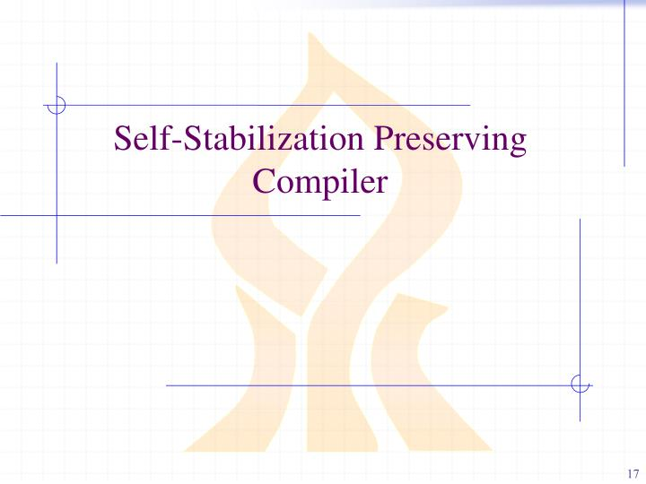 Self-Stabilization Preserving