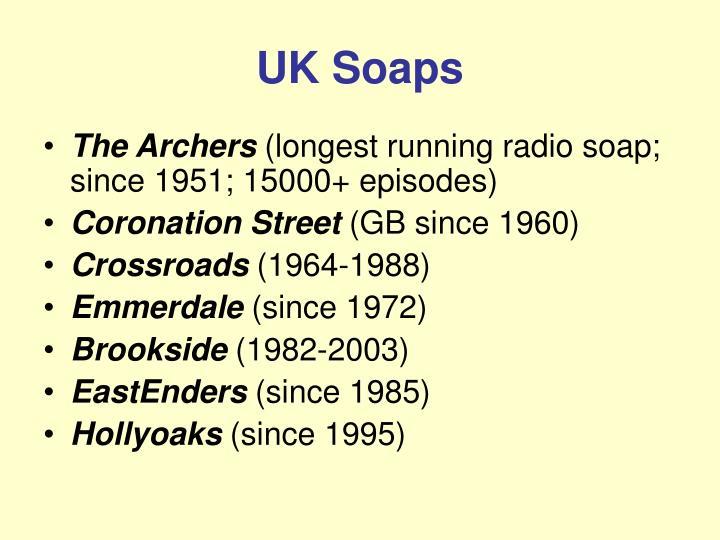 UK Soaps
