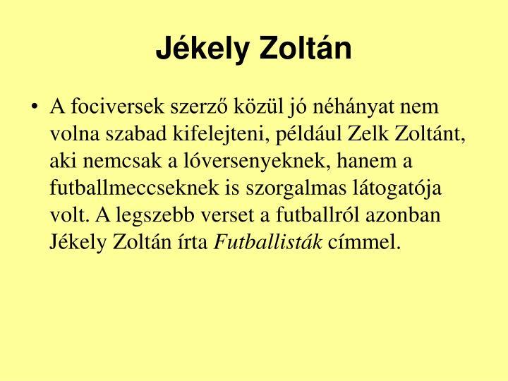 Jkely Zoltn
