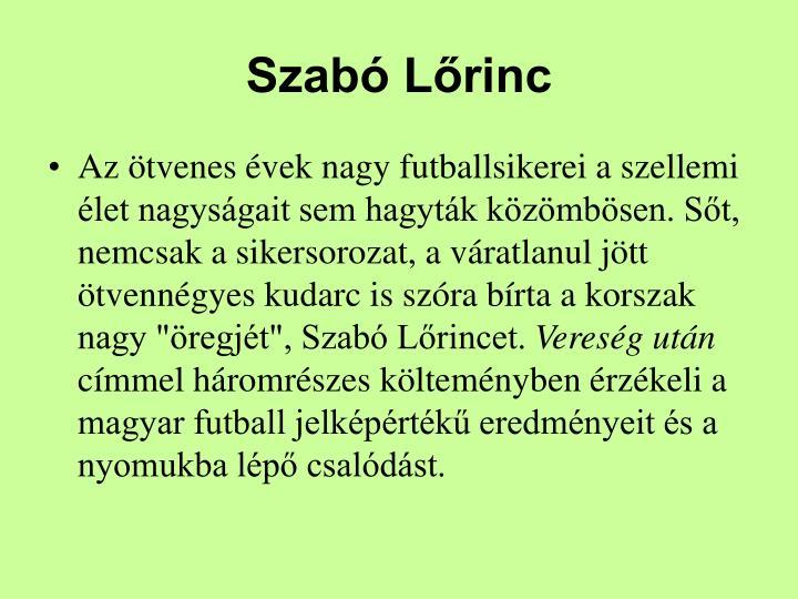 Szab Lrinc