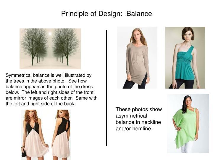 Principle of Design:  Balance