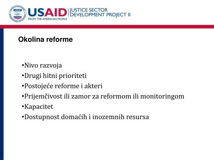 Okolina reforme