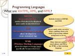 programming languages22