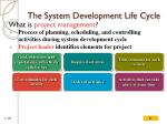 the system development life cycle5