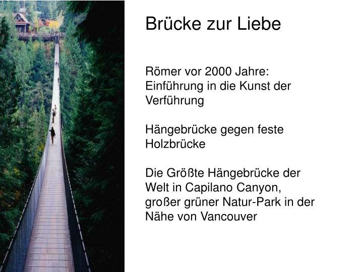 Brücke zur Liebe