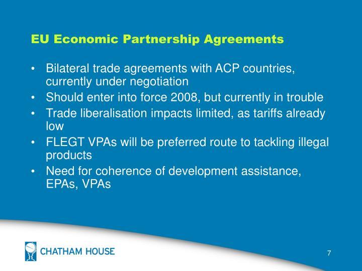EU Economic Partnership Agreements