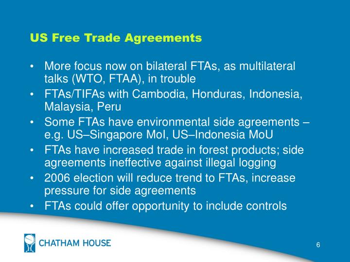 US Free Trade Agreements