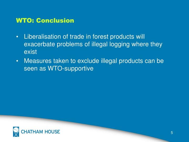 WTO: Conclusion