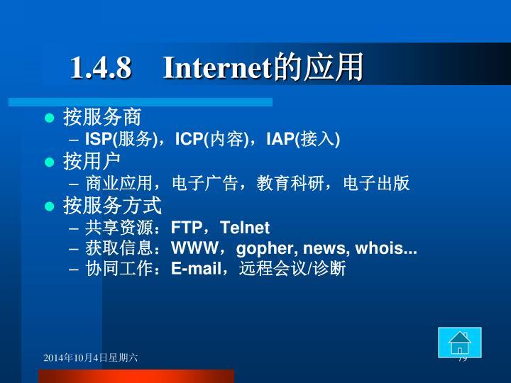 1.4.8    Internet