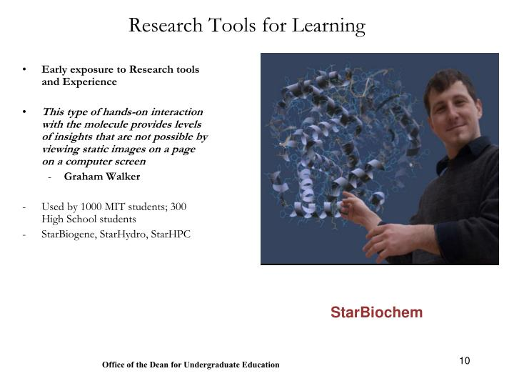 Research Tools for Learning