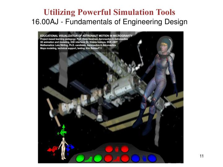 Utilizing Powerful Simulation Tools