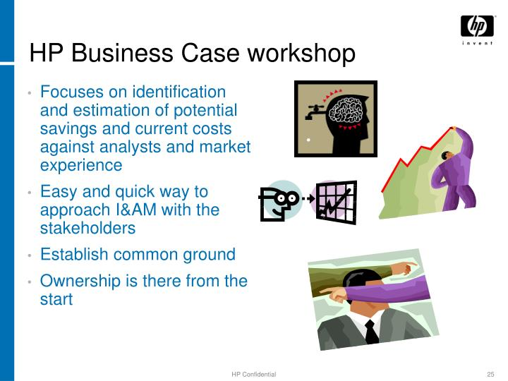 HP Business Case workshop