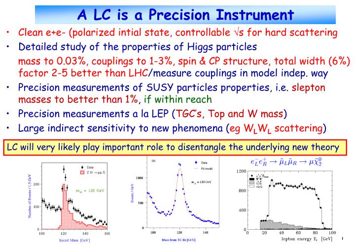 A LC is a Precision Instrument