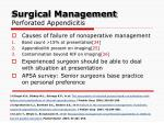 surgical management perforated appendicitis1