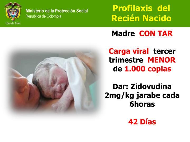 Profilaxis  del  Recién Nacido