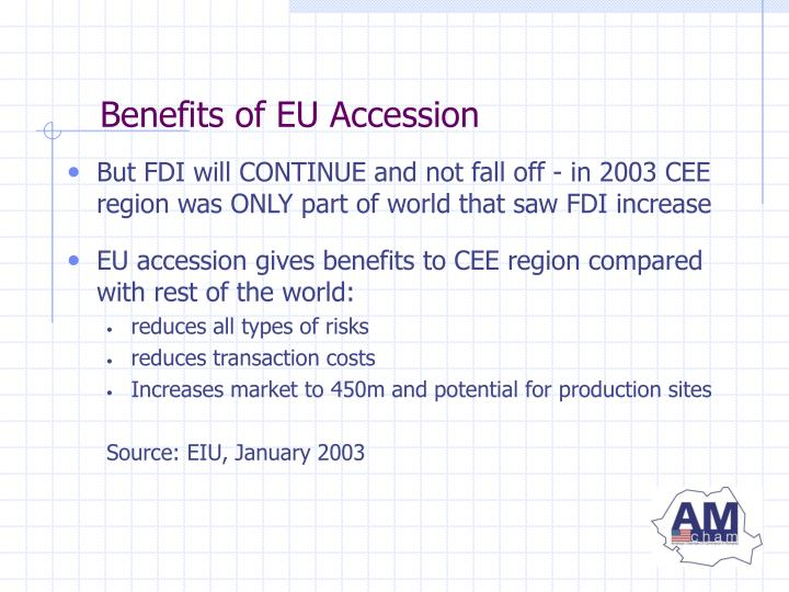 Benefits of EU Accession