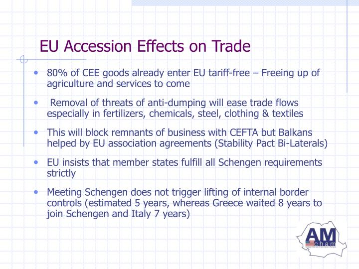 EU Accession Effects on Trade
