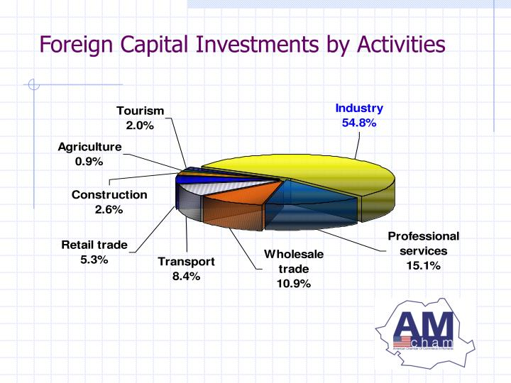 Foreign Capital Investments by Activities