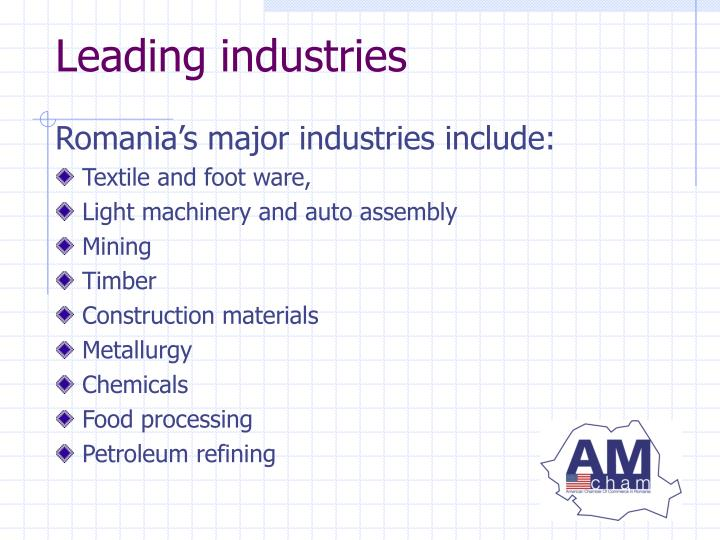 Leading industries