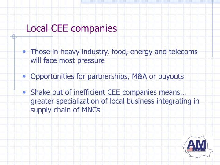 Local CEE companies