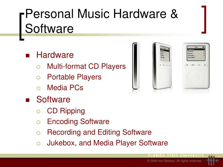 Personal Music Hardware & Software