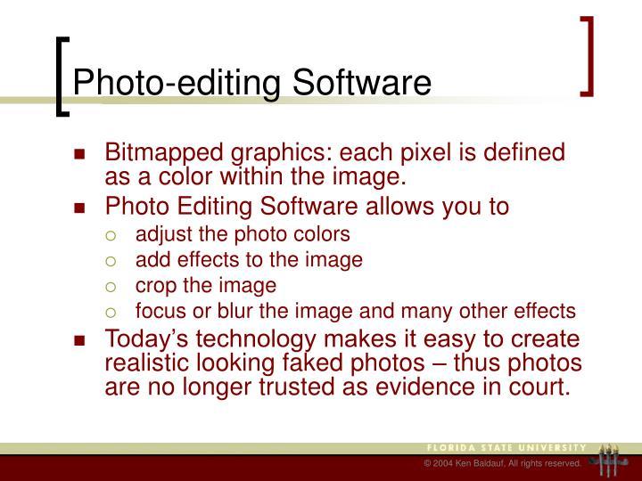 Photo-editing Software