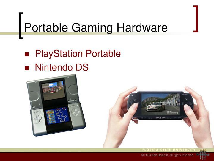 Portable Gaming Hardware