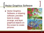 vector graphics software