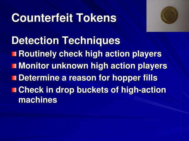 Counterfeit Tokens