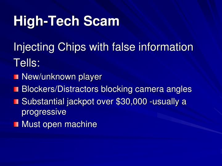 High-Tech Scam