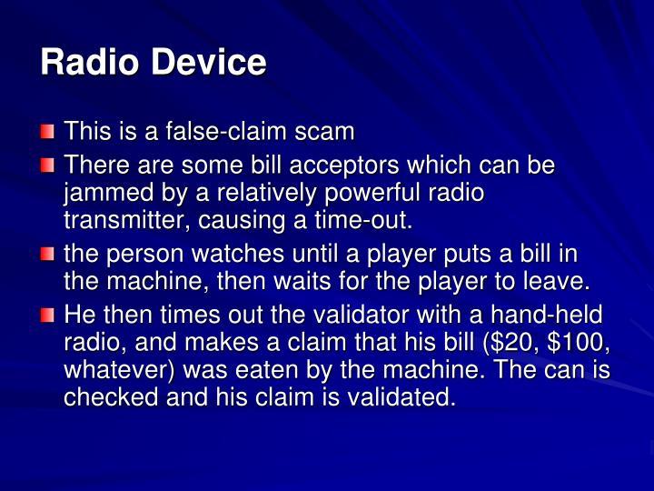 Radio Device