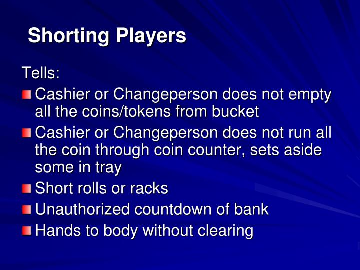 Shorting Players