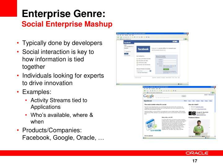 Enterprise Genre: