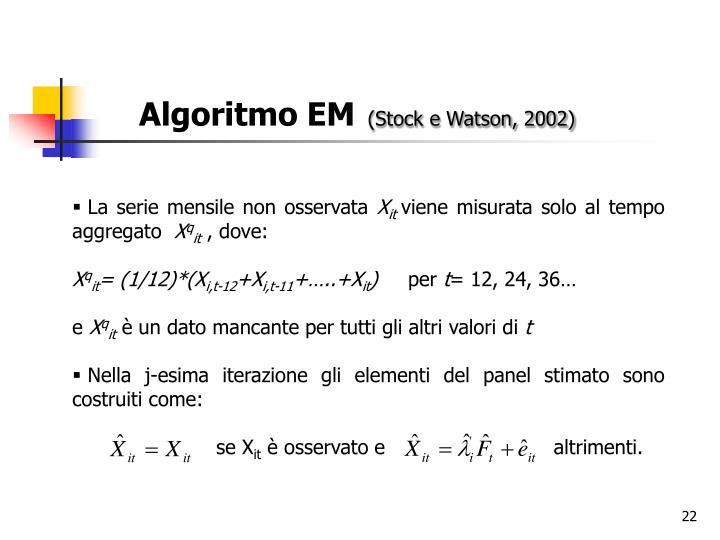 Algoritmo EM