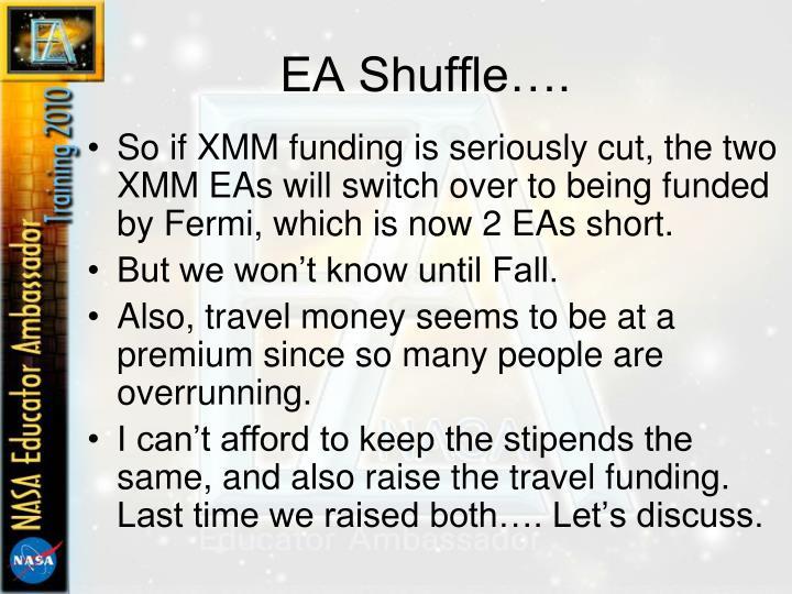 EA Shuffle….