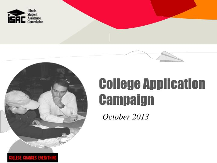 College Application Campaign