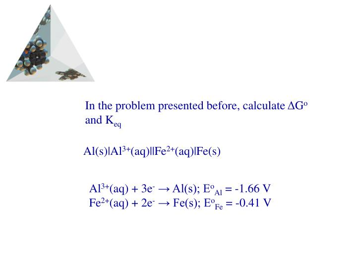 In the problem presented before, calculate